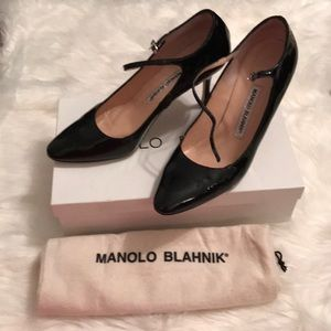 Manolo Blahnik EUC worn a few times Samba patent